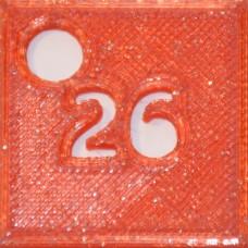26: PLA GLITTER Red