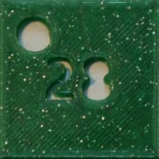 28: PLA GLITTER Green
