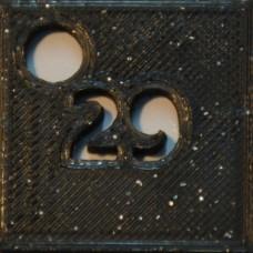 29: PLA GLITTER Black