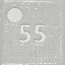 55: PLA GLITTER White