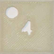 04: PLA Glow in the dark (White)