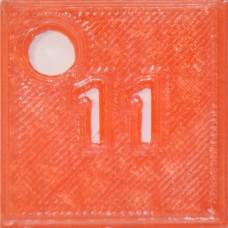 11: PLA Red Transparent