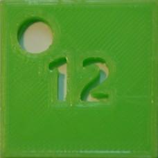 12: PLA Light Green