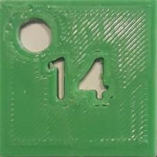 14: PLA Green