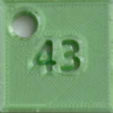 43: SILK Aquamarine