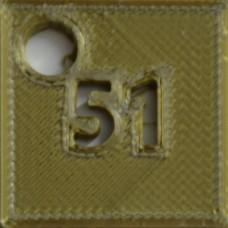 51: SILK Olive Gold